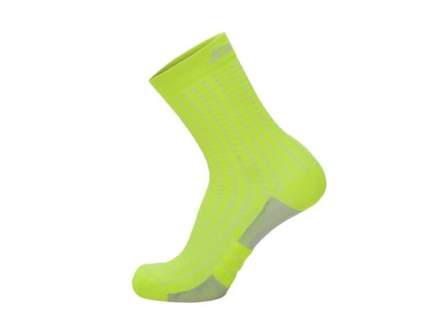 Santini Dryarn Mid Socks Herren giallo fluo